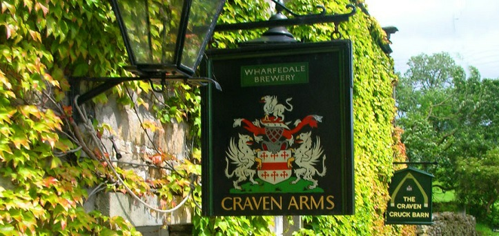 Craven Arms Sign